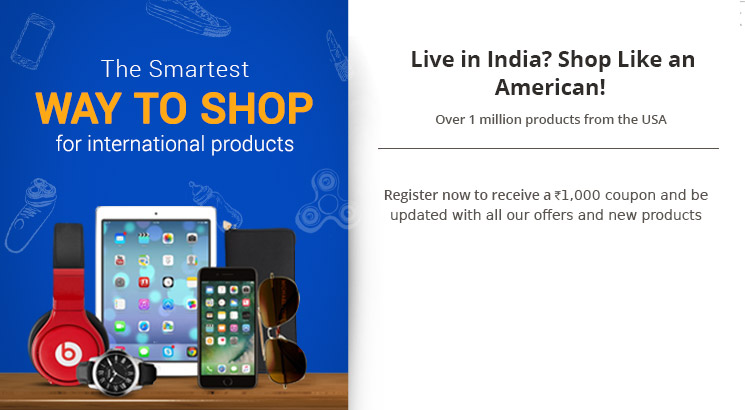 Shop from USA to India, Online Shopping from USA, Shop Overseas