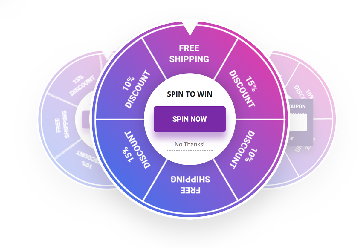 Spin-to-win Graphic